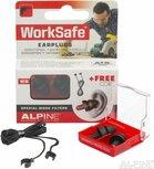 Alpine WorkSafe oordopjes