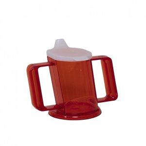 HandyCup met deksel - rood