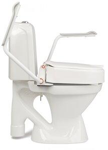 Hi Loo toiletverhoger vast met armleuning
